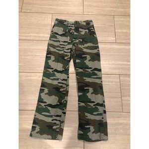 Jcrew Camo High-wasted Pants